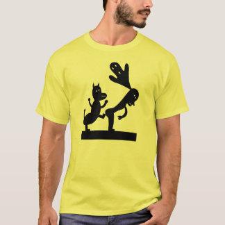 T-shirt Prenez garde du diable