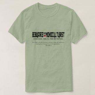 T-shirt Prenez garde du monoculturist