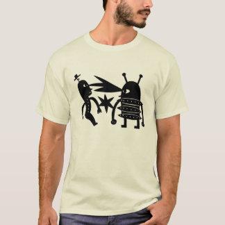 T-shirt Prenez garde du robot