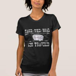 T-shirt Prenez la route moins a voyagé