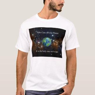 T-shirt Prenez soin de notre planète