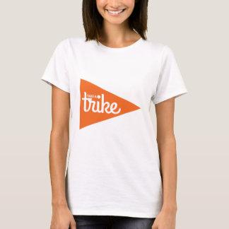T-shirt Prenez un drapeau de tricycle