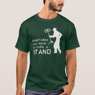 T-shirt Prenez un support