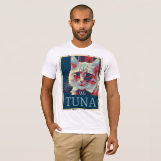 T-shirt Prenez un support… pour le thon ? Oui nous pouvons
