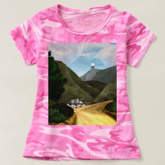 T-shirt Prenez une hausse. Le camouflage des femmes