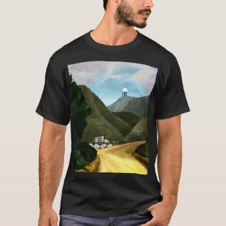 T-shirt Prenez une hausse. L'obscurité de base des hommes