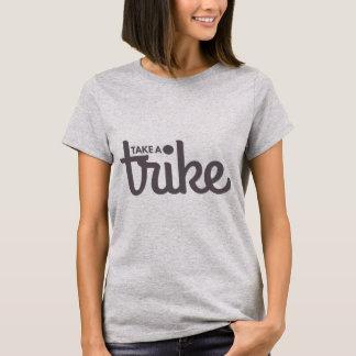 T-shirt Prenez une lumière de tricycle