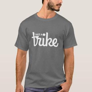 T-shirt Prenez une obscurité de tricycle