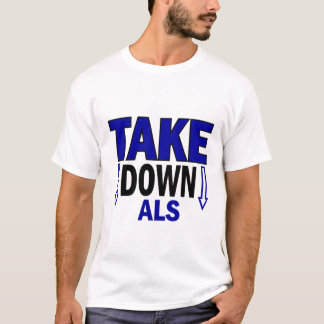 T-shirt Prenez vers le bas SAL 1
