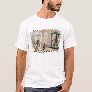 T-shirt Préparant le câble, 'du Telegraph atlantique