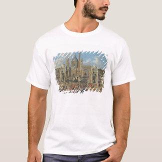 T-shirt Préparation pour l'affichage 2 de feu d'artifice