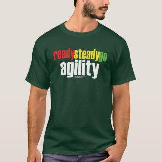 T-shirt Préparez, affermissez, allez agilité !