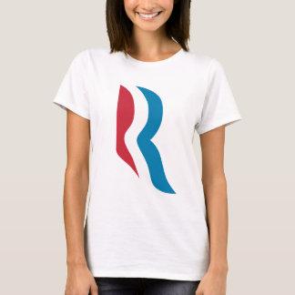 "T-shirt Président 2012 de logo de Mitt Romney ""R"""