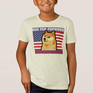 T-Shirt Président de doge - doge chien-mignon de