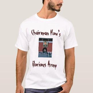 T-shirt Président Howard, Président comment est, armée