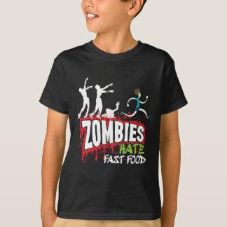 T-shirt Prêt-à-manger de haine de zombis