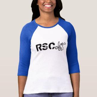 T-shirt Prêt… placez… la pièce en t de base-ball de