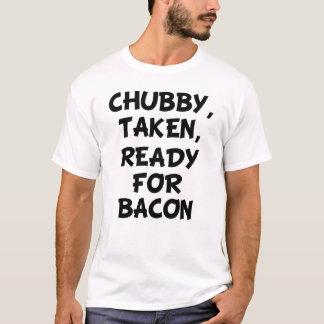 T-shirt Prêt pris potelé pour la chemise des hommes drôles
