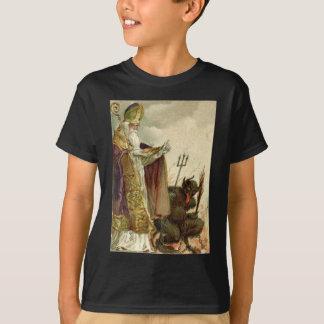 T-shirt Prêtre de fourche de Saint-Nicolas Krampus