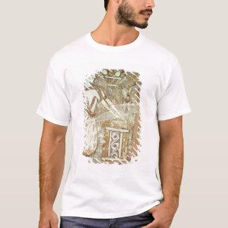 T-shirt Prêtresse à un autel, détail d'a