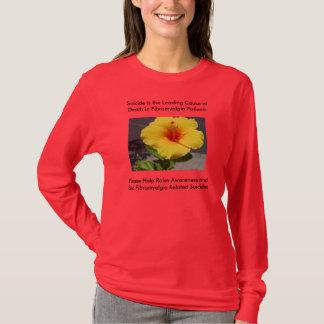 T-shirt Prévention de suicide de fibromyalgie