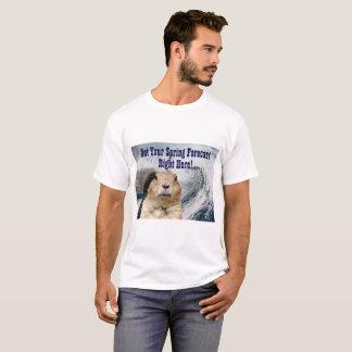 T-shirt Prévision de ressort de Groundhog