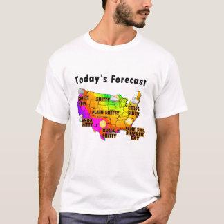 T-shirt Prévisions météorologiques