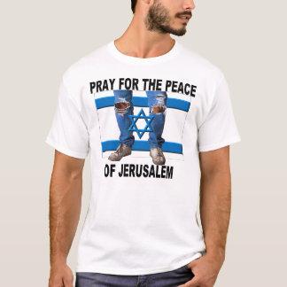 T-shirt Priez pour la paix de Jérusalem