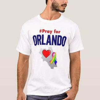 T-shirt Priez pour la pièce en t d'Orlando