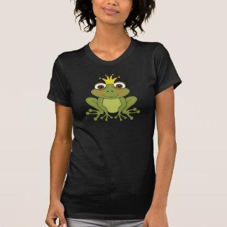 T-shirt Prince With Crown de grenouille de conte de fées