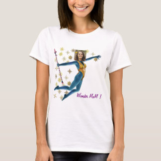 T-shirt Princess Fairy Wand, Blue - with YOUR Photo -