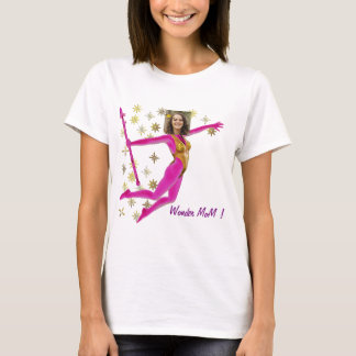 T-shirt Princess Fairy Wand, Pink Fushia - with YOUR Pho