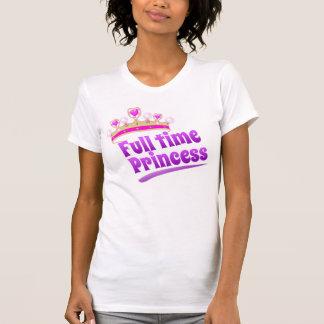T-shirt Princesse à plein temps