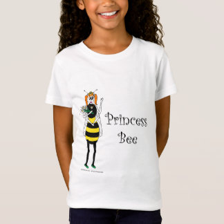 T-Shirt Princesse Bee de bande dessinée