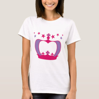T-shirt Princesse Crown