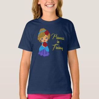 T-shirt Princesse dans la chemise de formation