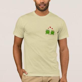 T-shirt Princesse de grenouille et prince de grenouille,