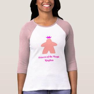 T-shirt Princesse du royaume de Meeple