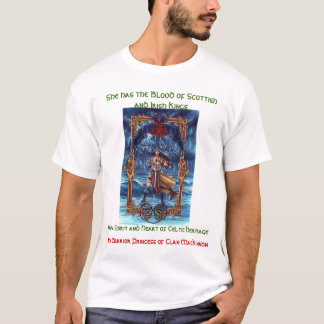 T-shirt Princesse-Héritage de guerrier de MacKinnon de