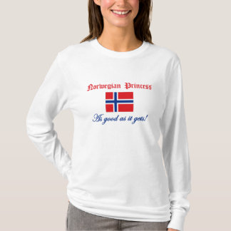 T-shirt Princesse norvégienne 2
