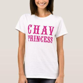 T-shirt Princesse Pink Vintage Badge Hikingduck de Chav