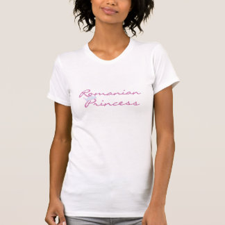 T-shirt Princesse roumaine