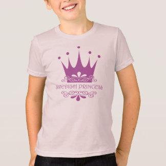 T-shirt Princesse suédoise Pretty dans la petite fille