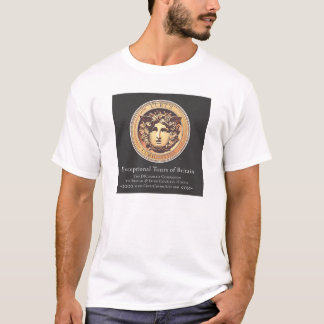 T-shirt principal de méduse