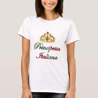 T-shirt Principessa Italiana (princesse italienne)