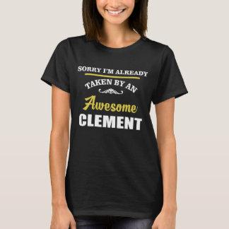 T-shirt Pris par un CLÉMENT impressionnant. Anniversaire