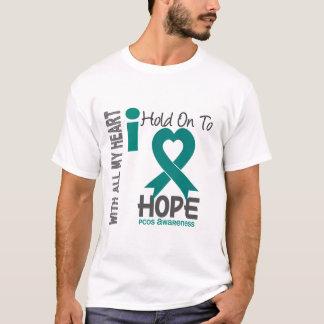 T-shirt Prise de PCOS I dessus à l'espoir