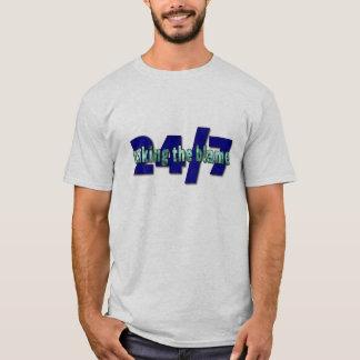 T-shirt Prise du blâme, 24/7