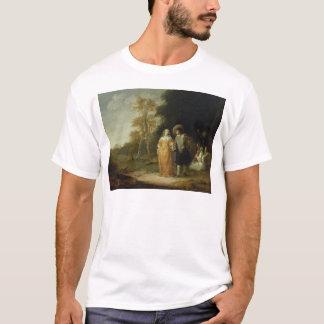 T-shirt Prise d'une balade