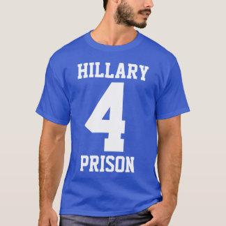 """T-shirt """"PRISON de HILLARY 4"""" (double face)"""